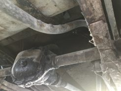 1939 American Bantam Rear axle exhaust 2