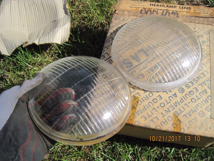 Bantam Headlight lenses 3