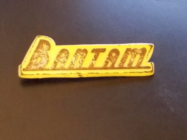 1940 American Bantam Badge Damaged Original