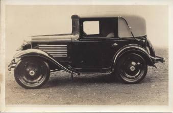American Austin Cabriolet Factory Photo