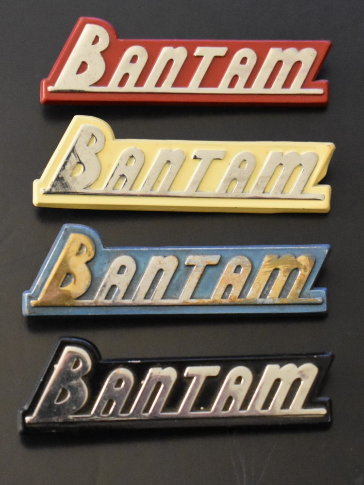 Backfilled Bantam emblems 1