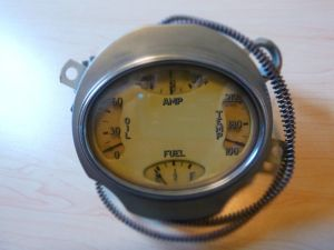 1935 - 1936 Hupmobile Instrument Cluster (American Bantam, BRC)