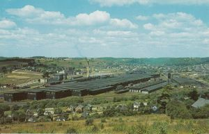 Bantam Factory post card