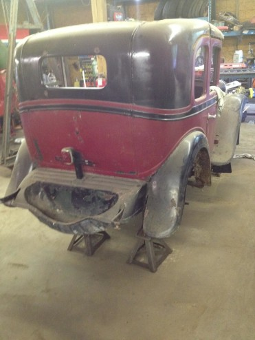 addison pennsylvania, project car, antique car, restoration