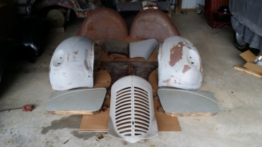 1939 Fenders Hood Grille Doors(1)