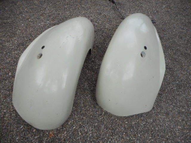 Early bantam fenders