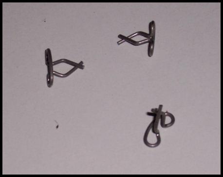 Bantam grille trim clips