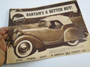 1939 Bantam Brochure