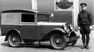 Early American Austin Panel Truck