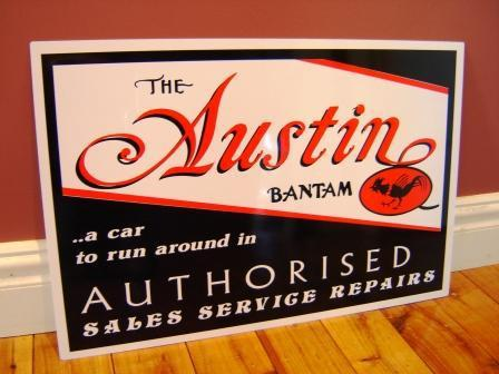 reproduction american austin sign