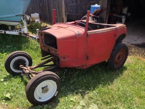 hot rod, project, bantam