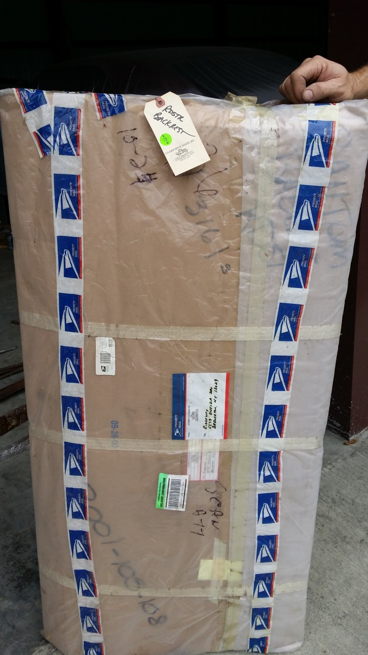 Brand New American Bantam Roadster seat frames in boxes