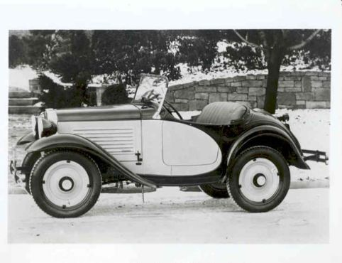 American Austin Roadster Factory Photo