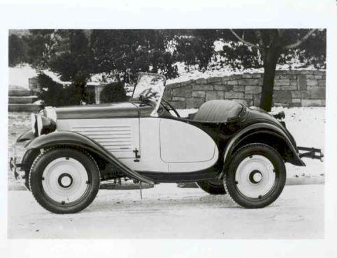American Austin Roadster Factory Photo