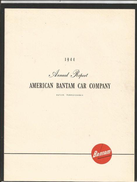 1944 annual report 1
