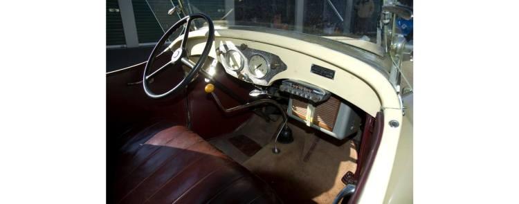 1940 original crinkle dash panel roadster