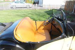 American Austin Roadster interior, seat, doors