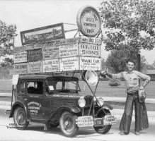 American Austin Advertising Billboard