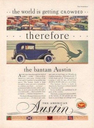 American Austin Factory Ad Copy