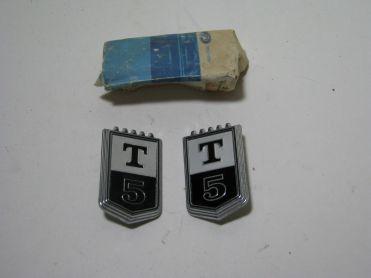 1967 T-5 Badges