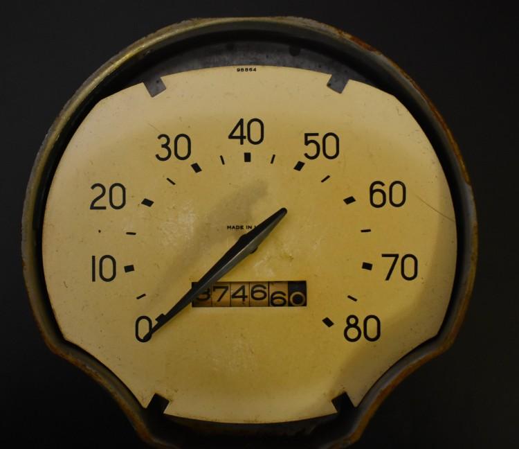 Bantam Speedometer Pearl Face Bantam Speedometer Pearl Face