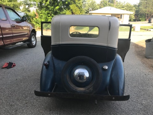 1939 American Bantam Rear hubcap spare