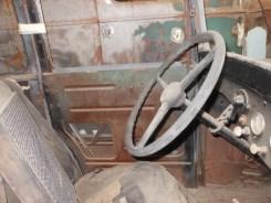 American Austin steering wheel