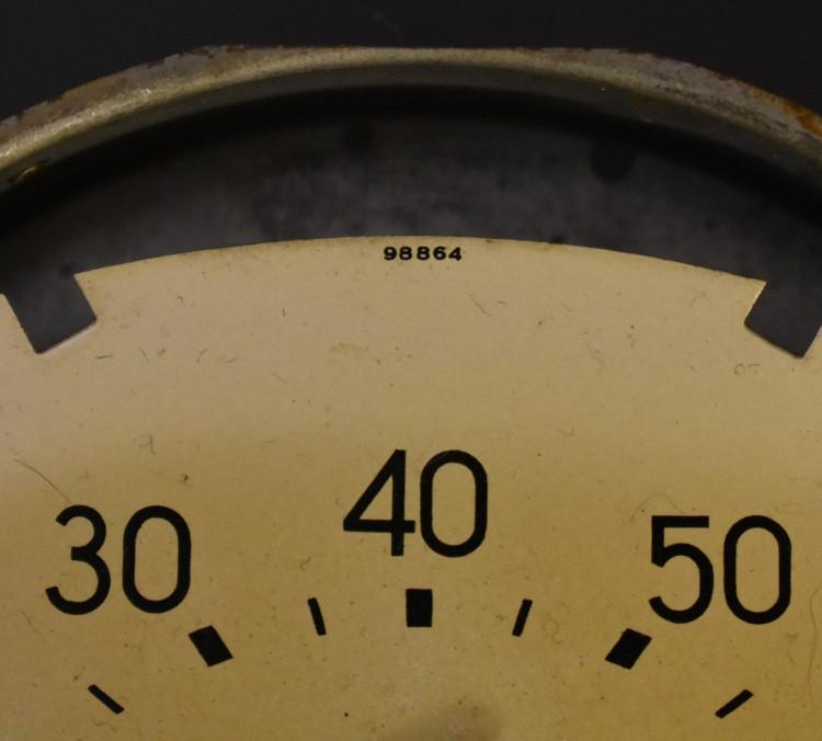 Bantam Speedometer Pearl Face 2