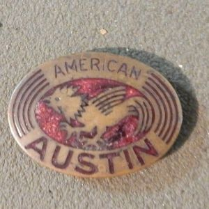 1930 - 1934 American Austin Radiator Badge