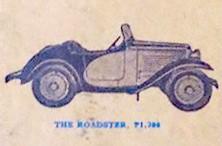 American Austin Roadster Factory Rendering