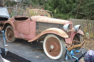 1931 Austin Roadster Project bantam