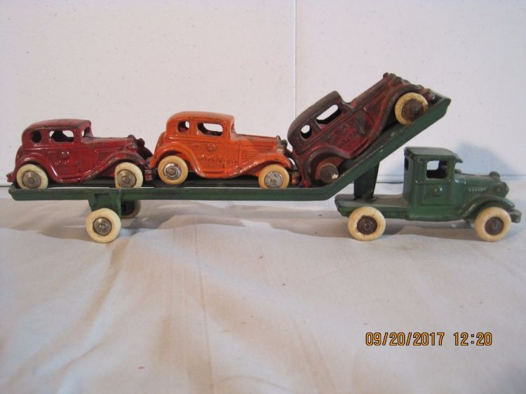 American Austin Car Hauler Toy