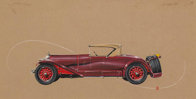 Bonhams Sakhnoffsky original design