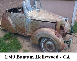 1940 American Bantam Hollywood CO Featured Photo