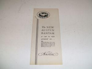 American Austin Brochure 1