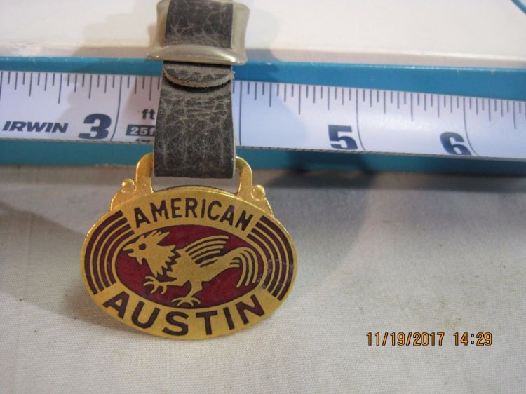 American Austin Badge Fob 3